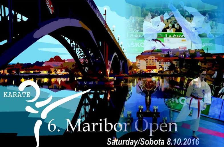 e-Karate.si - 6. Maribor Open - Organizator : Karate Klub Kovinar Maribor