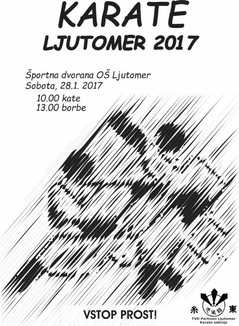 e-Karate.si - KARATE LJUTOMER 2017 - Organizator : Telesno Vzgojno Društvo Partizan Ljutomer