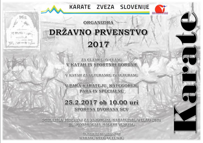 e-Karate.si - Državno prvenstvo za veteranke in veterane - Organizator : Karate Klub Velenje
