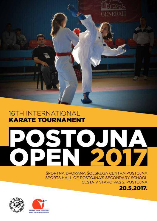 e-Karate.si - POSTOJNA OPEN 2017 - Organizator : Karate Klub Postojna
