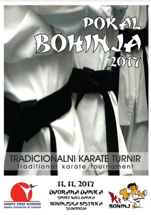 e-Karate.si - POKAL BOHINJA 2017 - Organizator : Shotokan Karate Klub Bohinj