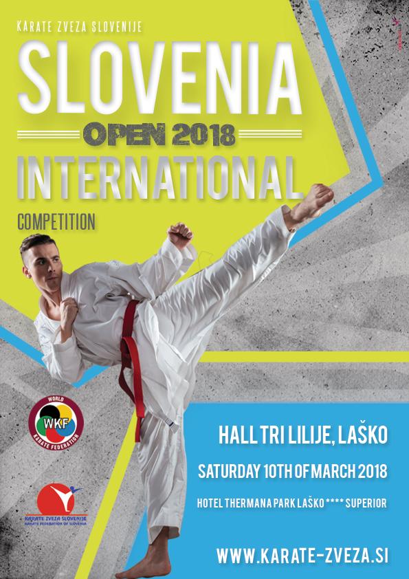 e-Karate.si - SLOVENIA OPEN 2018 - Organizator : Karate Klub Polzela