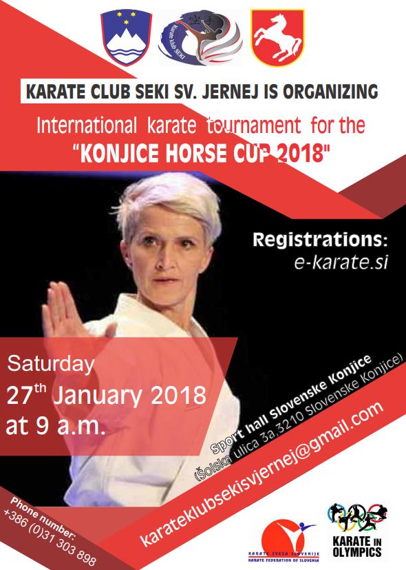 e-Karate.si - POKAL KONJIŠKEGA KONJA 2018 (Hors Cup 2018) - Organizator : Karate Klub Seki Sv. Jernej