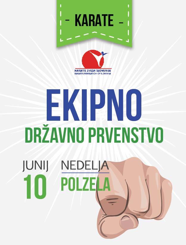 e-Karate.si - EKIPNO DRŽAVNO PRVENSTVO 2018 - Organizator : Karate Klub Polzela