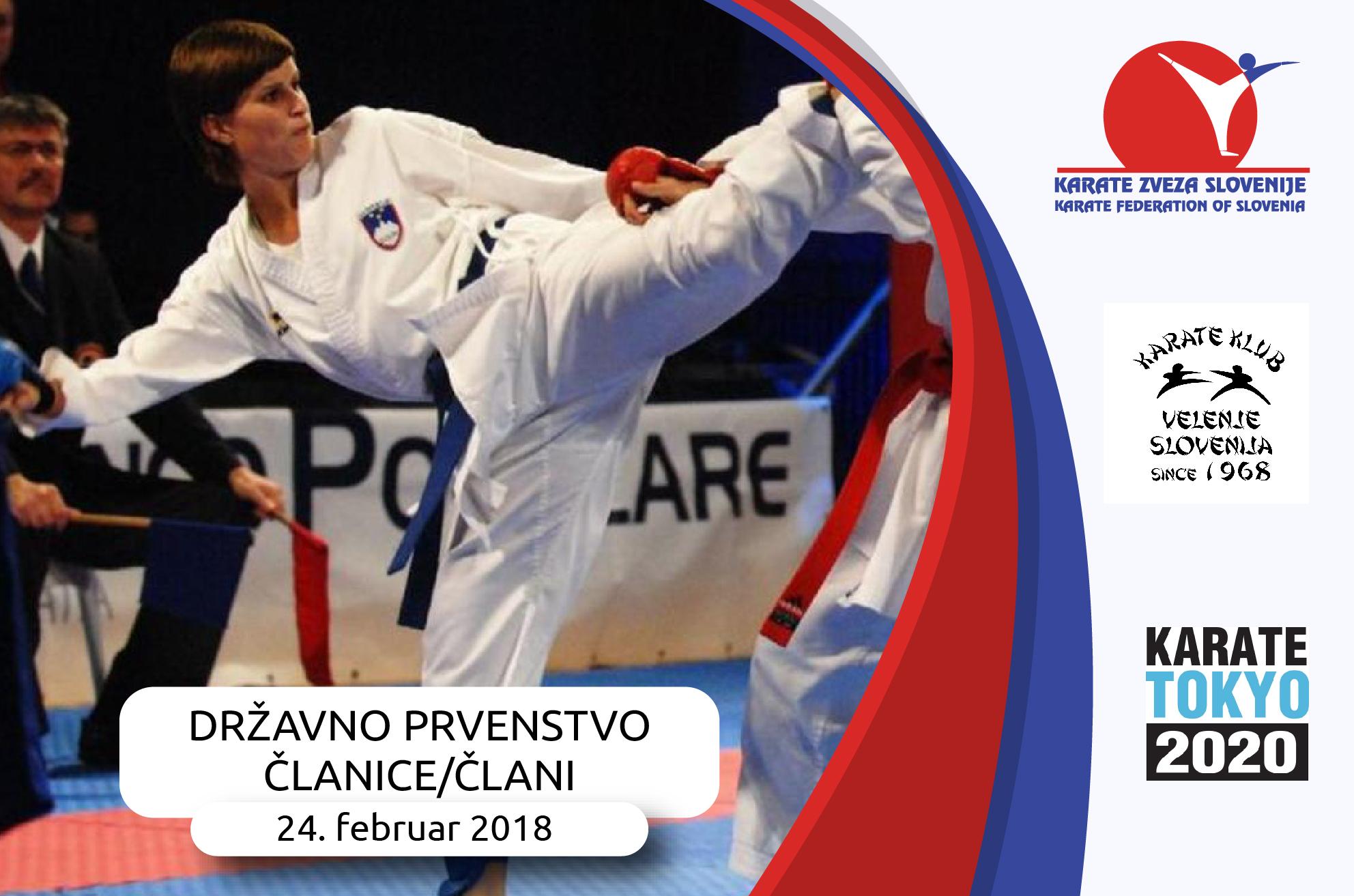 e-Karate.si - Državno prvenstvo za članice in člane - Organizator : Karate klub Velenje