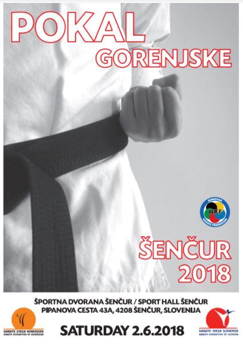 e-Karate.si - POKAL GORENJSKE 2018 - Organizator : Karate Klub Shotokan Kranj