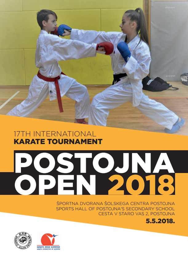e-Karate.si - POSTOJNA OPEN 2018 - Organizator : Karate Klub Postojna